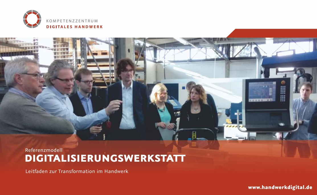 Publikation Kompetenzzentrum Digitales Handwerk