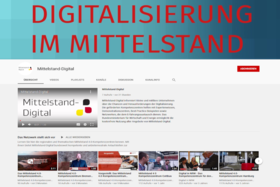 Screenshot des neuen YouTube-Kanals von Mittelstand-Digital